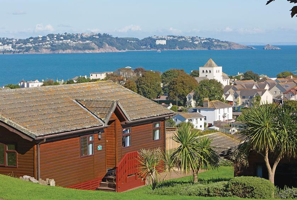 Beverley View Lodges in Paignton, Devon, some with a hot tub