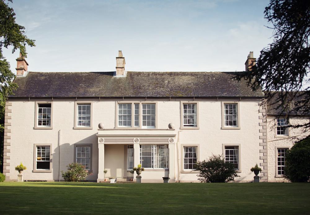 Blaithwaite House at Blaithwaite Estate in Wigton, Cumbria