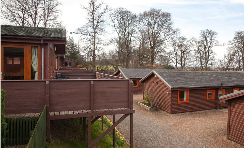 Drummohr Holiday Park in Musselburgh, East Lothian, are hot tub holiday lodges