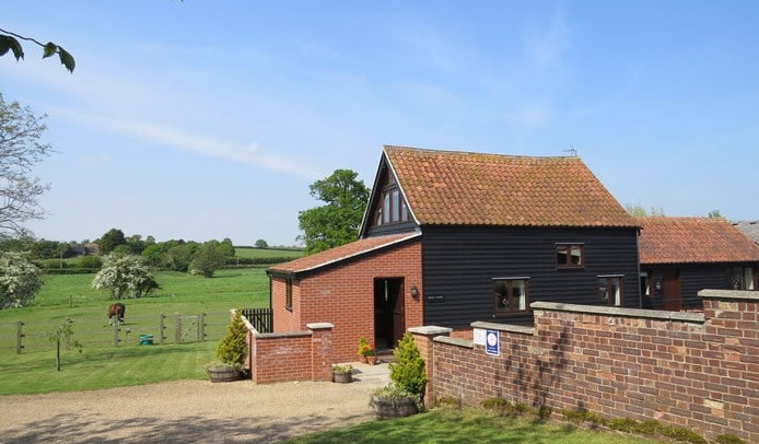 Old Hall Farm Cottages in Halesworth, Suffolk