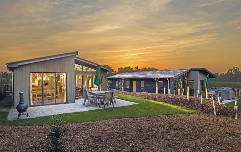 Penally Grange in Tenby are a collection of hot tub holiday lodges sleeping up to 8
