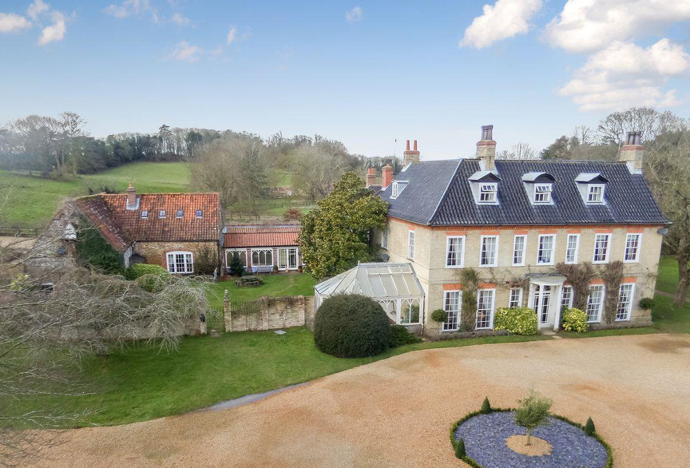 Sedgeford Hall Estate in Hunstanton, Norfolk