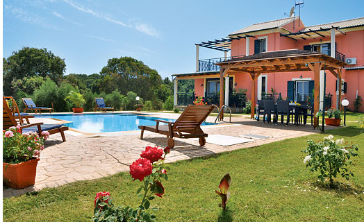 Villa Karetta near Lake Korrison on Corfu
