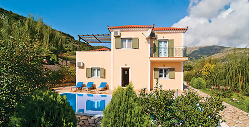 Kefalonia is a Greek Island in the Ionian Sea, and Villa Kostis is a holiday villa on Kefalonia